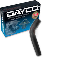 Dayco Upper Radiator Hose for 1999-2000 Jeep Grand Cherokee 4.7L V8 - Engine ds