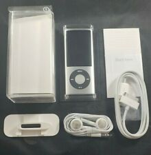 Apple iPod nano 5th Generation 8GB Silver New with New Battery