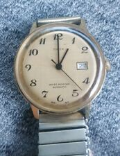 Gent's Vintage TIMEX Water Resistant Automatic Hand Wind Wristwatch with date