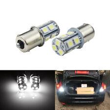 2x SMD 13 LED 1156 BA15s P21W R5W R10W Ampoule signal inverse lumière blanc12V