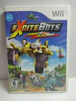 Excitebots: Trick Racing (Nintendo Wii, 2009) Complete Tested Battle Racing Game