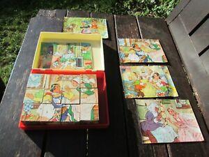 Vintage German Fairytale Block Puzzle