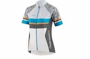 Louis Garneau, white/ gray, Medium, Women's Equipe Series Cycling Jersey