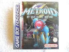 NINTENDO GAME BOY-Metroid Fusion (Rosso Autentico STRISCIA SIGILLATO)