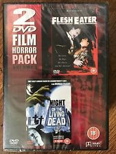 NIGHT OF THE LIVING DEAD + CARNE Eater ~ Culto Horror Double Bill GB DVD