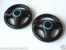 NEW 2pcs Mario Kart Racing Steering Wheel Nintendo Wii Remote Game Controller