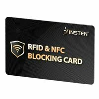 2x RFID Blocking Card Credit Card Protector NFC Signals Shield For Entire Wallet