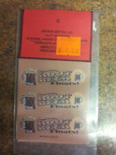 REPO MINT WRAPPERS FOR ANTIQUE SLOT MACHINE MW#26 ROOT BEER FLOATS  10 PACK