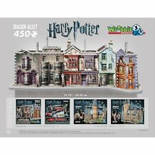 Harry Potter's Diagon Alley 3D Puzzle - 450 Pieces Jigsaw