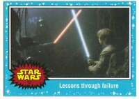 2015 Star Wars Journey To The Force Awakens #52 Lessons through failure Topps
