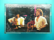 "ROD STEWART  "" ROD STEWART UNPLUGGED  ...AND SEATED  ""  CASSETTE"