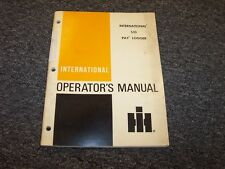 International Harvester S10 Pay Logger Owner Operator Maintenance Manual Guide