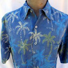 Tori Richard Hawaiian Aloha Shirt Chest Size 46 Inches Palm Trees