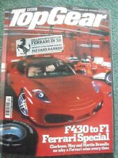 Top Gear magazine December 2004 Issue 135 F430 to F1 Ferrari Special Holographic