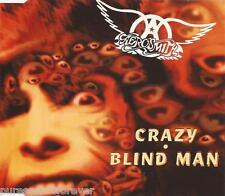 AEROSMITH - Crazy/Blind Man (UK 4 Trk CD Single)