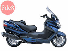 Suzuki AN 650 Burgman (2002-2006) - Manual de taller en CD