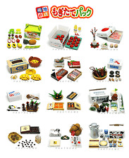 Re-ment #19 Miniature Food Fruit Cheese Banana RARE (set  of 12)