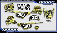 Yamaha PW-50 Rockstar Graphics Decal Kit