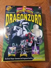 Bandai Power Rangers Deluxe DRAGONZORD BOX ONLY 1993 *NO Action Figures* W/DRILL