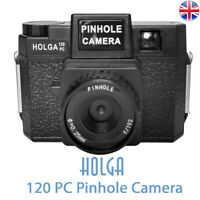 HOLGA 120PC Black Pinhole Camera Lomo Medium Format Film Camera Holga 120 PC