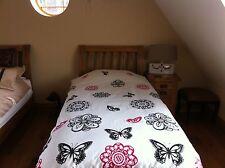 Single Butterfly Duvet Cover Set Butterflies - Girls Or Boys Bedding Bed