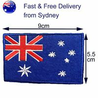 Australia flag iron on patch - Oz flags Australian Aussie Southern Cross patches