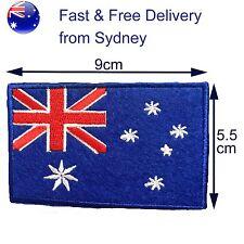 Australia flag iron on patch - Oz flags Australian Aussie Southern Cross patches