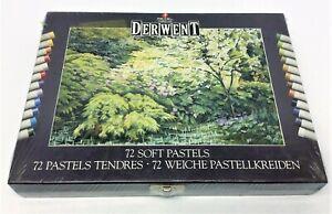New Vintage Rexel Cumberland Derwent 72 Soft Pastels Artwork 5010255327871