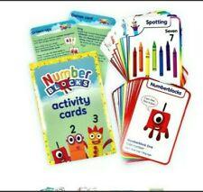 Genuine Number blocks CBeebies Numberblocks activity cards Christmas gift