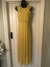 Bcbg Maxazria Yellow Maxi Dress BNWT Size 0