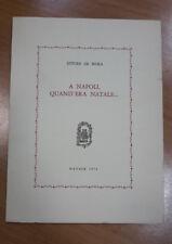 A NAPOLI, QUAND'ERA NATALE... ETTORE DE MURA NATALE 1971