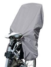 Trockolino - Regenschutz für Fahrrad-Kindersitz grau - das Original!