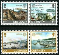 GUERNSEY 1983 EUROPA GREAT WORKS SET OF ALL 4 COMMEMORATIVE STAMPS MNH (w)