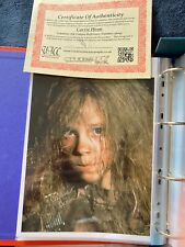 More details for carrie henn signed photo with certificate - aliens