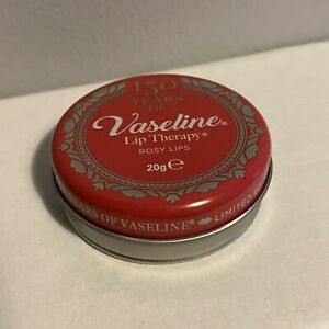 Vaseline Lip Therapy Rosy Lips 20g Limited Edition Collection Rose Almond Oil