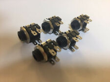 3.5mm Jack Socket Mono Switched With Solder Tags (PACK OF 5)