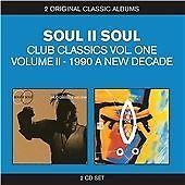 SOUL II SOUL - CLASSIC ALBUMS / 2IN1 NEW CD