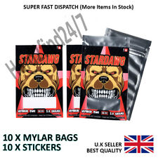 Cali Stickers / Mylar Heat Seal Bags #Stardawg Cali Tin Labels