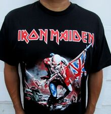 NEW! IRON MAIDEN TROOPER PUNK ROCK T SHIRT MEN'S SIZES