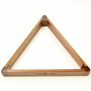 for 2 1//16 inch Balls Oak Peradon 15 Ball Full-Size Snooker Triangle