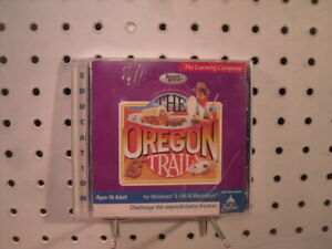 The Oregon Trail - 1999 Windows 3.1 / 95 PC Game of many deaths - Learning Co.