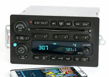 GMC Chevy Truck 03-05 Radio AM FM 6 Disc CD Upgraded w Bluetooth Music 15196055