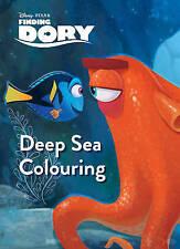 DISNEY PIXAR FINDING DORY Deep Sea da colorare da Parragon NUOVO (libro in brossura 2016)