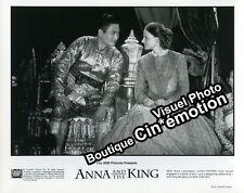 9 Photos Argentique 20x25.5cm (1999) ANNA ET LE ROI Jodie Foster, Chow Yun-Fat