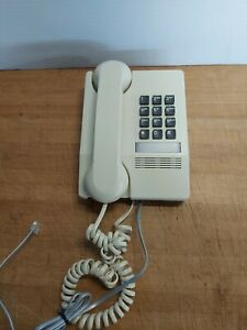 Vintage Northern Telecom Phone Used Working 1983 Beige