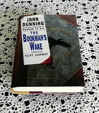 The Bookman's Wake by John Dunning SIGNED 1st Edition 1st Printing Hardcover