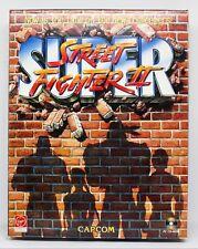 SUPER STREET FIGHTER II - PC ESPAÑA - CAJA GRANDE DE CARTON - 2 TURBO