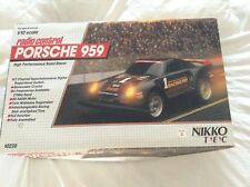 "Vintage-Radio Control (Nikko)Porsche 959""Fully Working"" w/ new battery&charger"