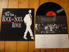 The New York Rock & Soul Revue Live At The Beacon Boz Scaggs Tom Schiller LP