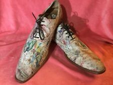 "PAUL SMITH,""HAND CRAFTED "" CANVAS,Men Shoes !!! UNIQUE !!!"